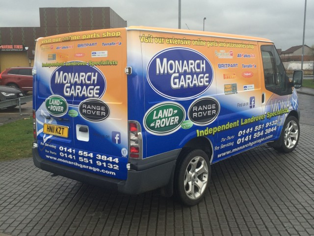 vehicle graphics glasgow